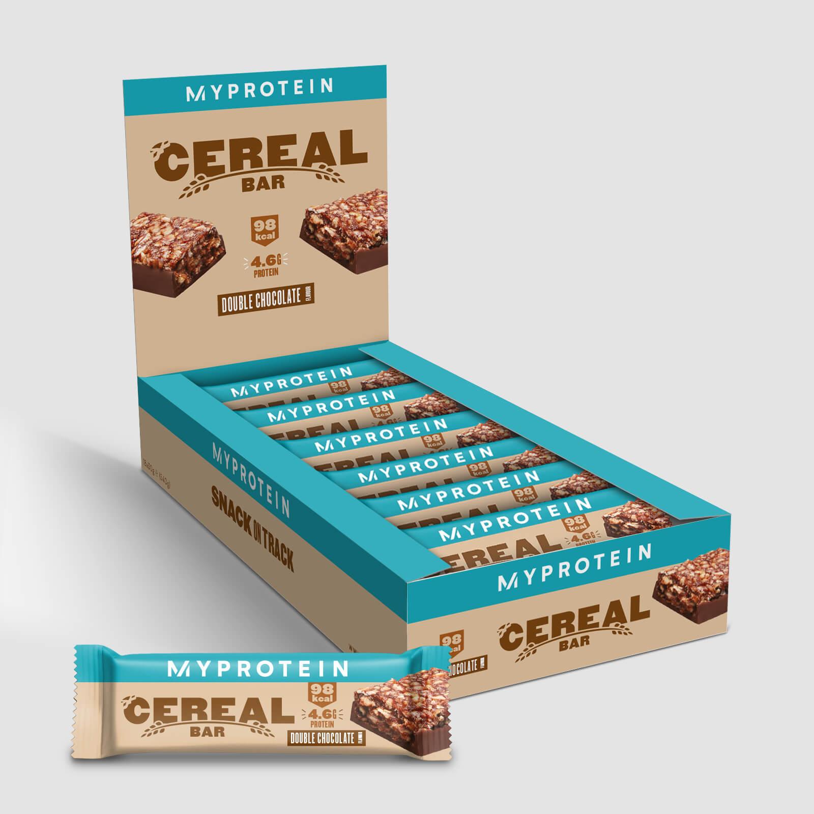 Myprotein Barre de céréales - 18 x 30g - Double chocolat
