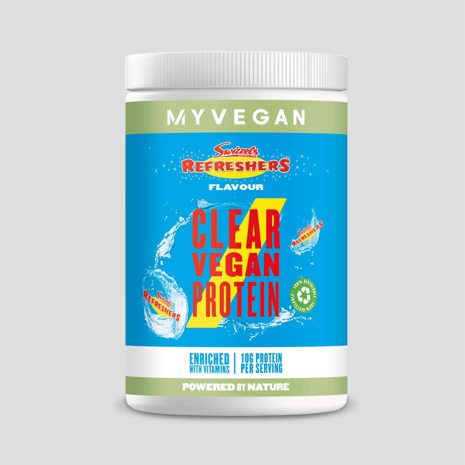 Myvegan Clear Vegan Protein - 10servings - Swizzels - Refreshers