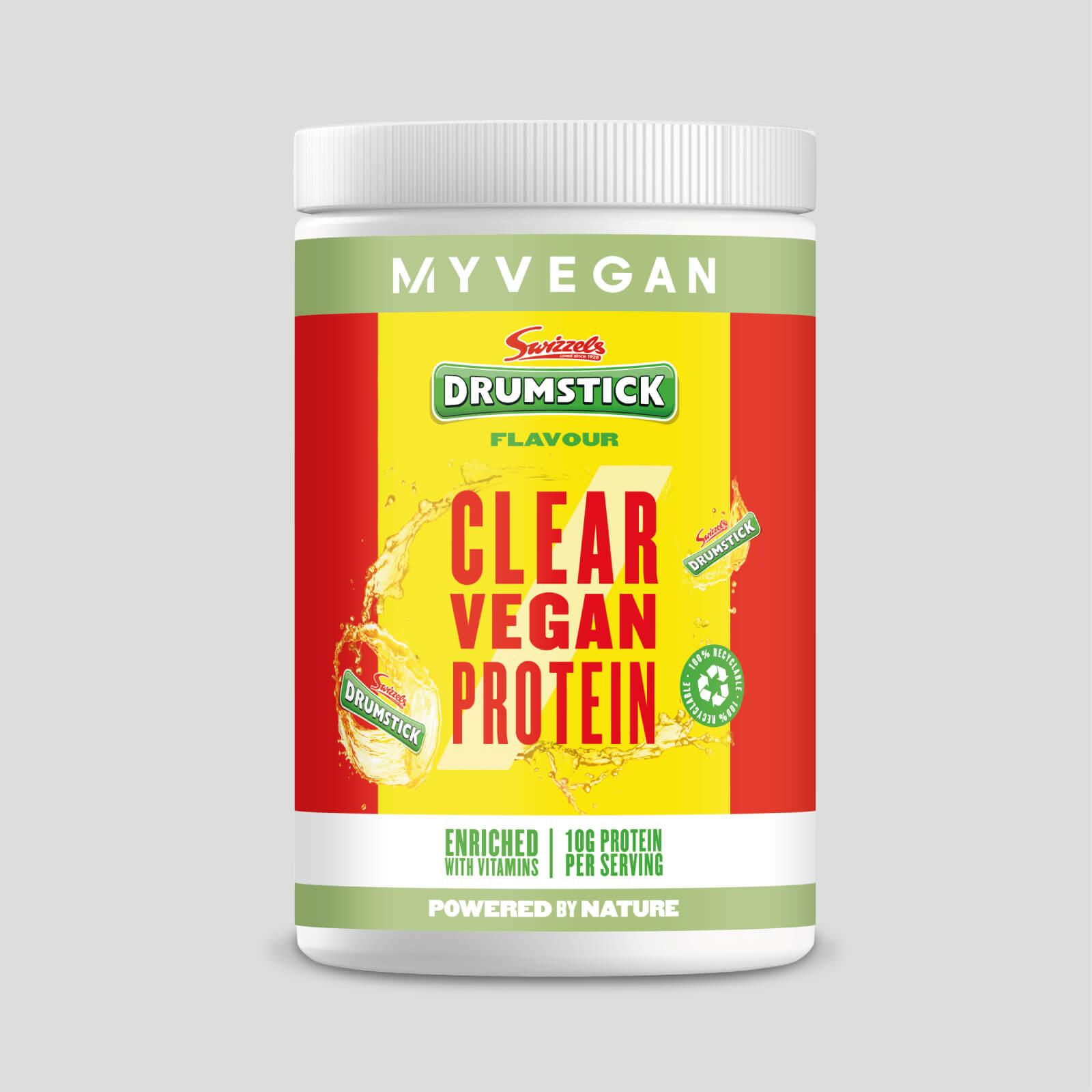 Myvegan Clear Vegan Protein - 10servings - Swizzels - Drumsticks