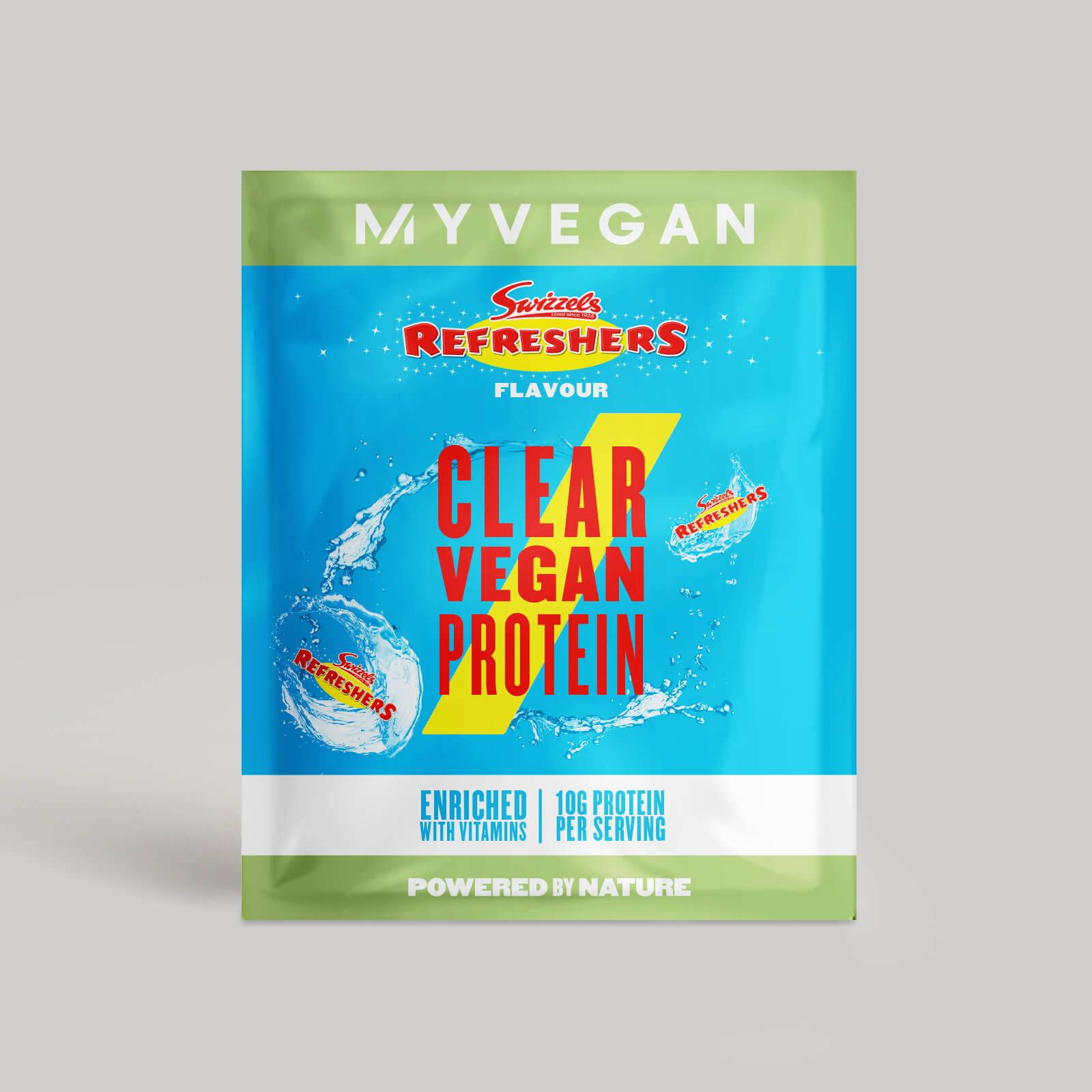 Myvegan Clear Vegan Protein, 16g (Sample) - Swizzels - Refreshers