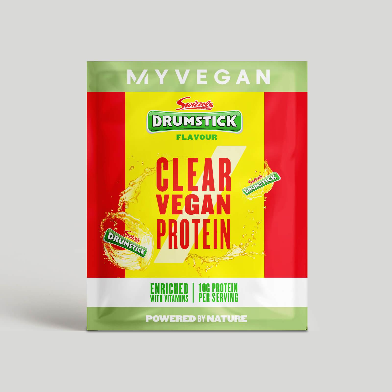 Myvegan Clear Vegan Protein, 16g (Sample) - Swizzels - Drumsticks