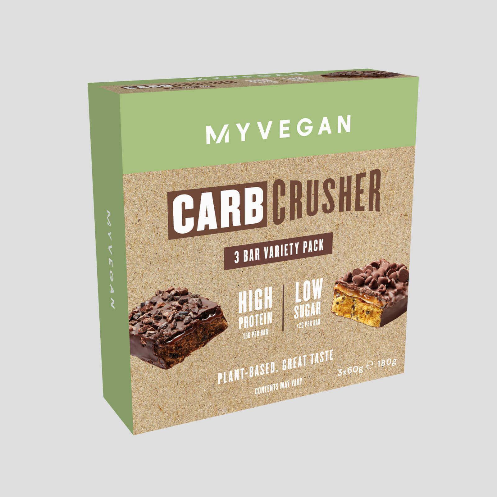 Myvegan Vegan Carb Crusher (lot de 3)