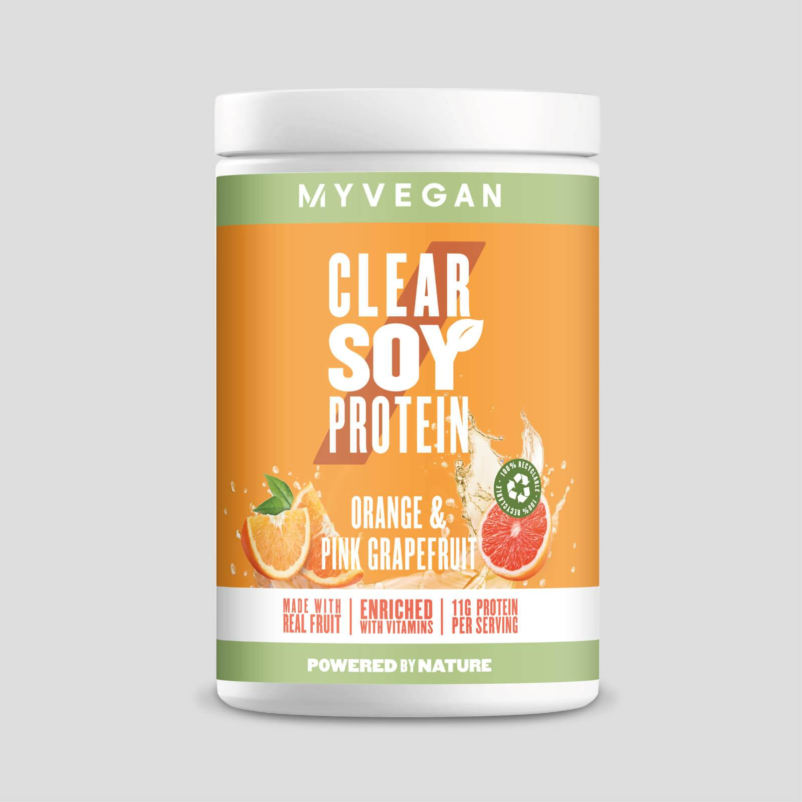 Myprotein Clear Soy Protein - 340g - Orange and Pink Grapefruit