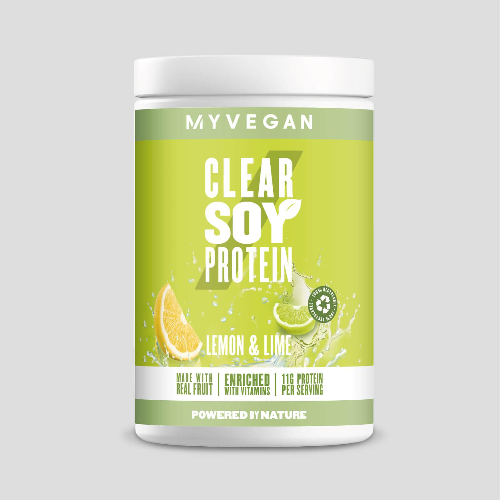 Myprotein Clear Soy Protein - 340g - Citron et Citron Vert