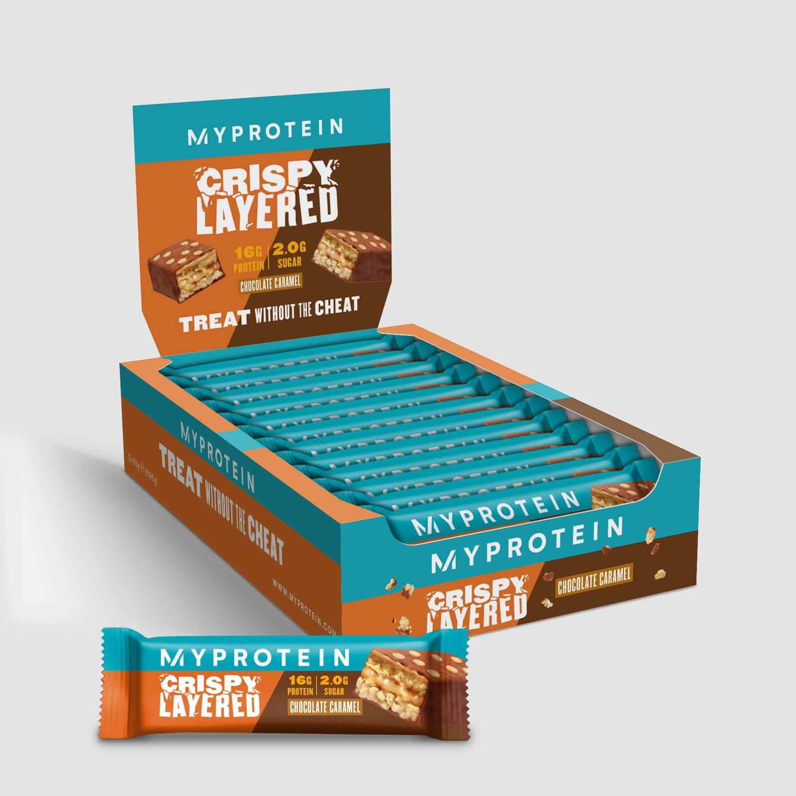 Myprotein Barre croustillante à 6couches - Chocolat Caramel