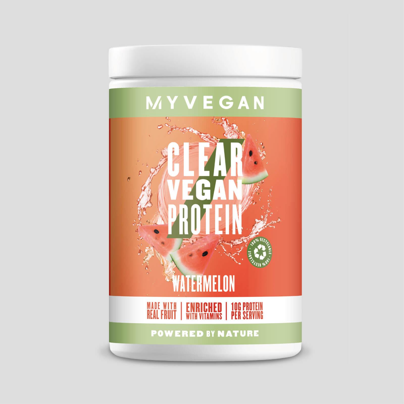 Myvegan Clear Vegan Protein - 20servings - Pastèque