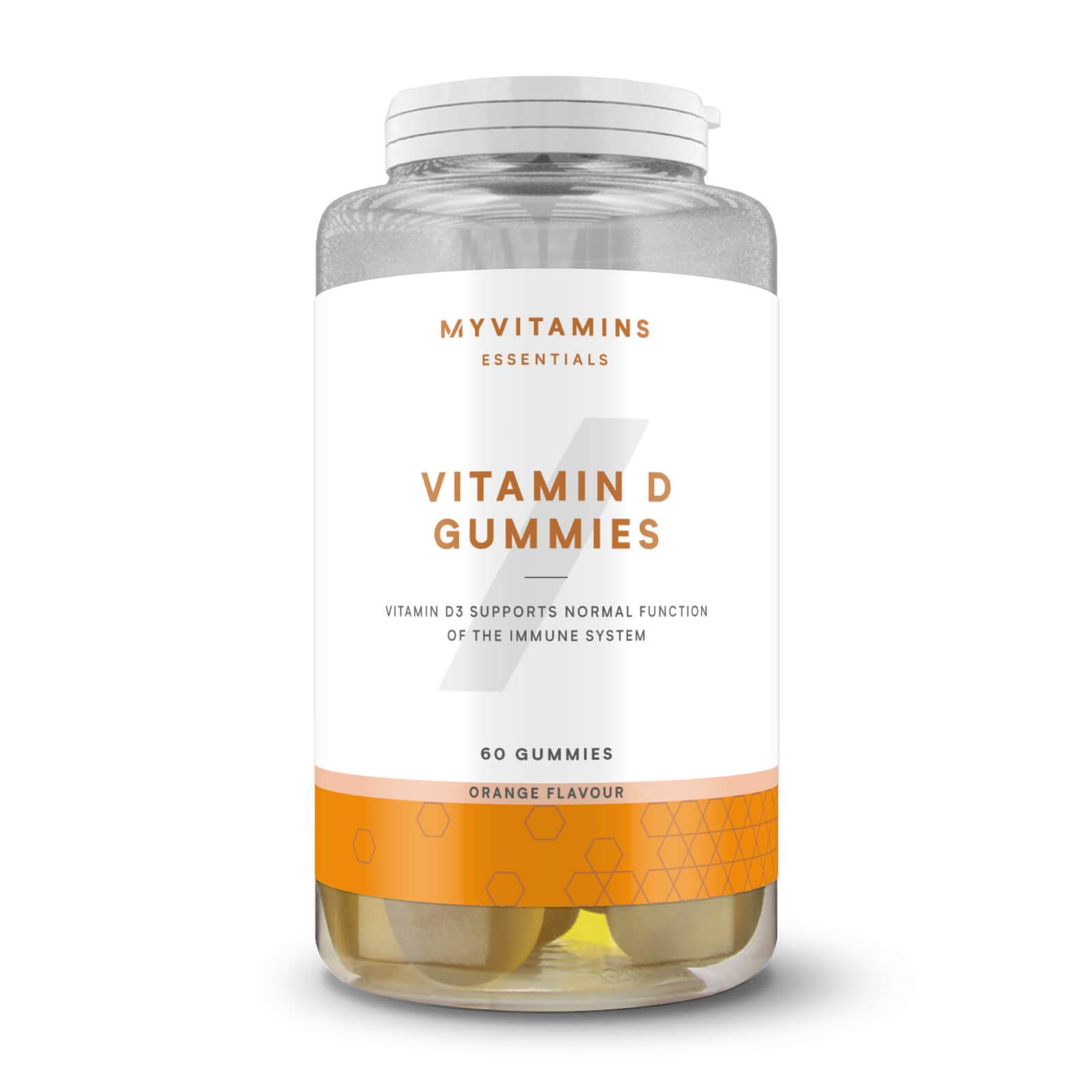 Myvitamins Bonbons à la vitamineD - 60servings - Orange
