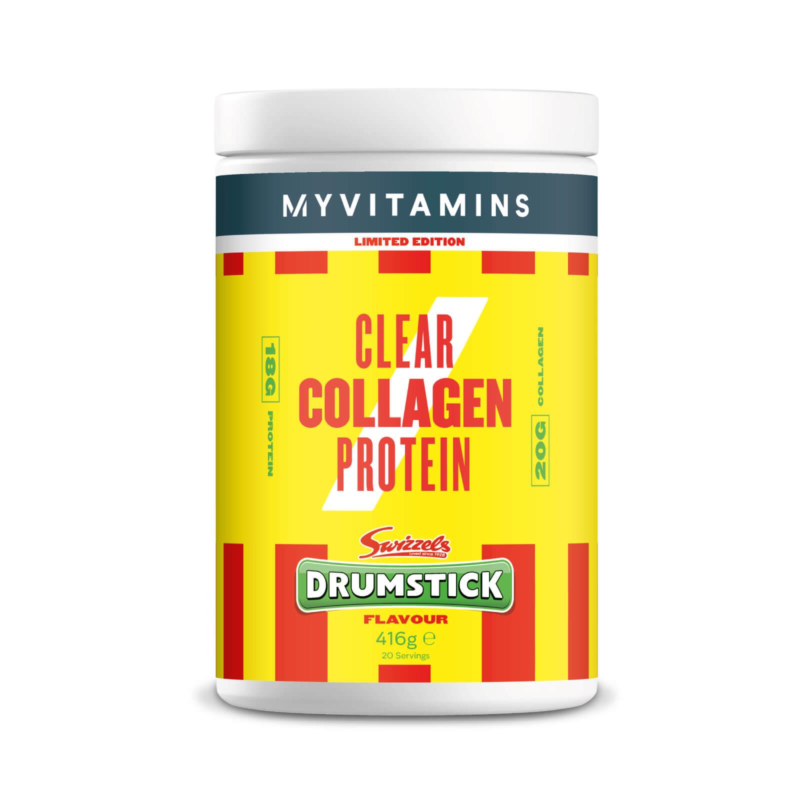 Myvitamins Clear Collagen— Drumstick (Swizzels) - 420g - Drumstick