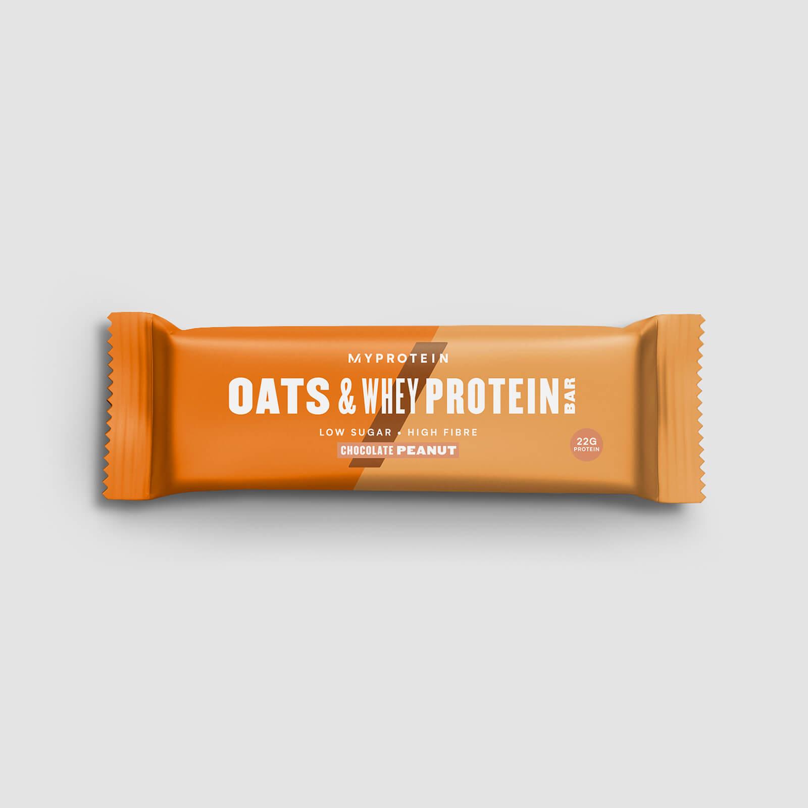 Myprotein Barre Flocon d'Avoine et Whey - Chocolat-Cacahuète