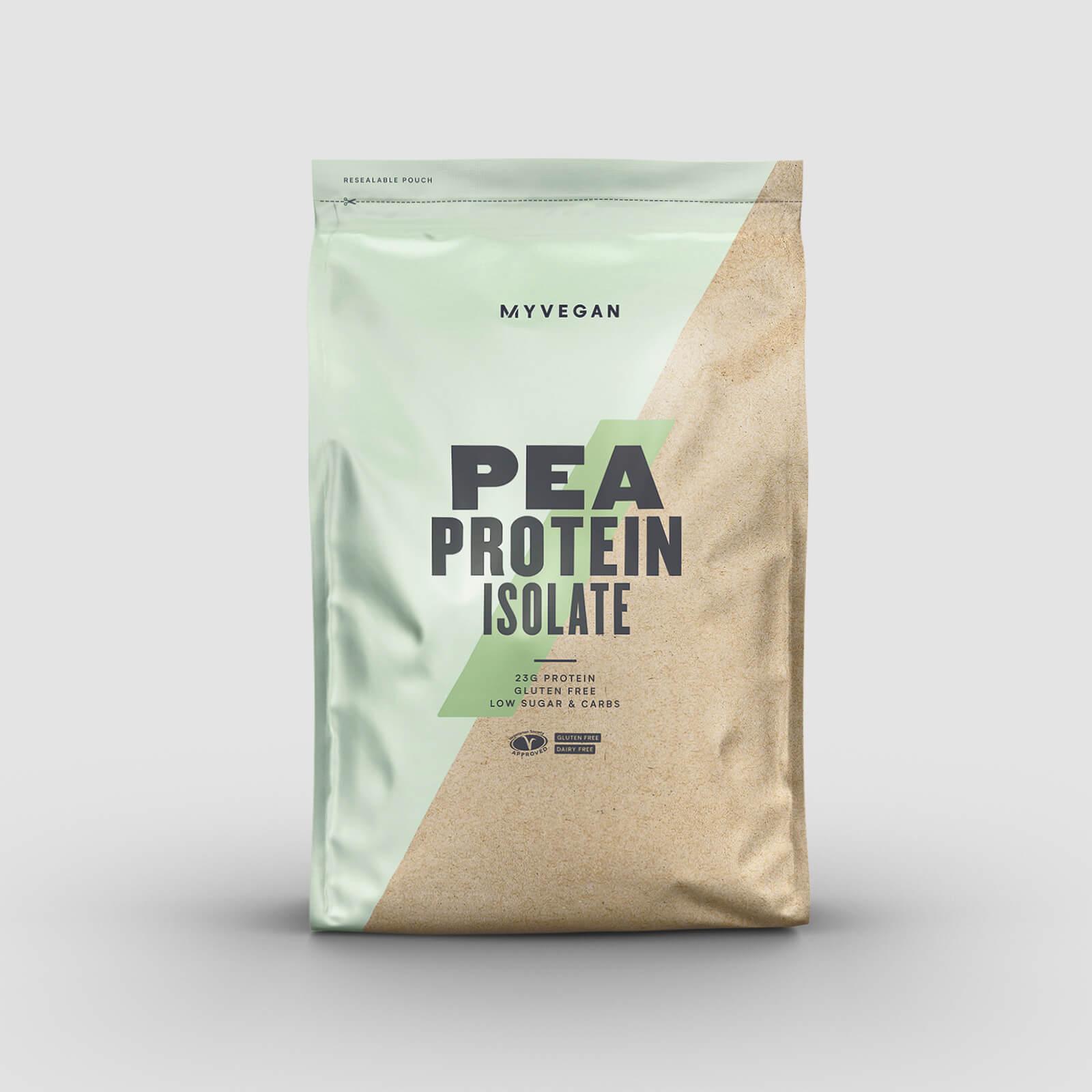 Myprotein Isolat de protéine de pois - 2.5kg - Sans arôme ajouté