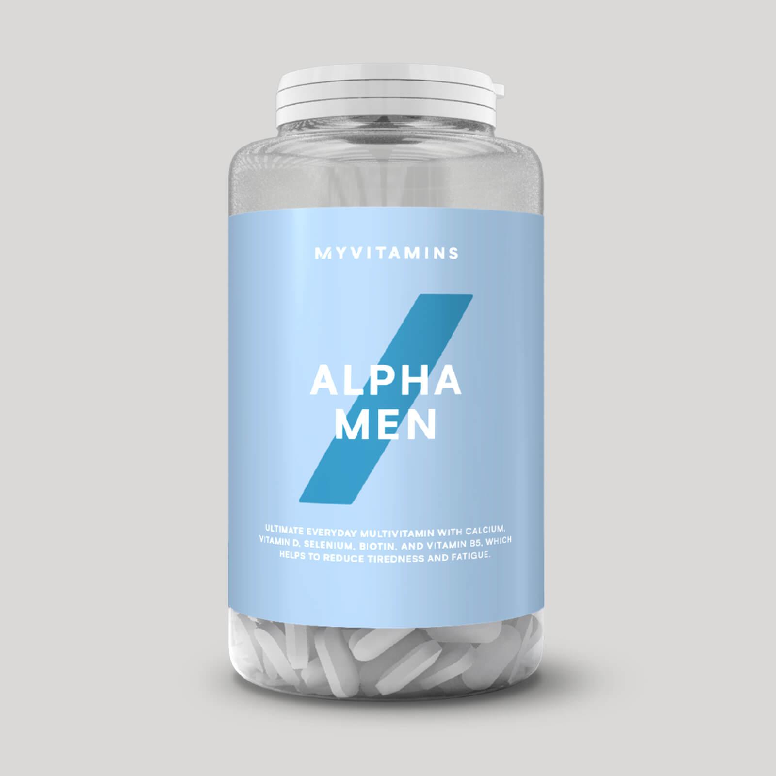 Myvitamins Alpha Men - Comprimés multivitaminés - 120Comprimés