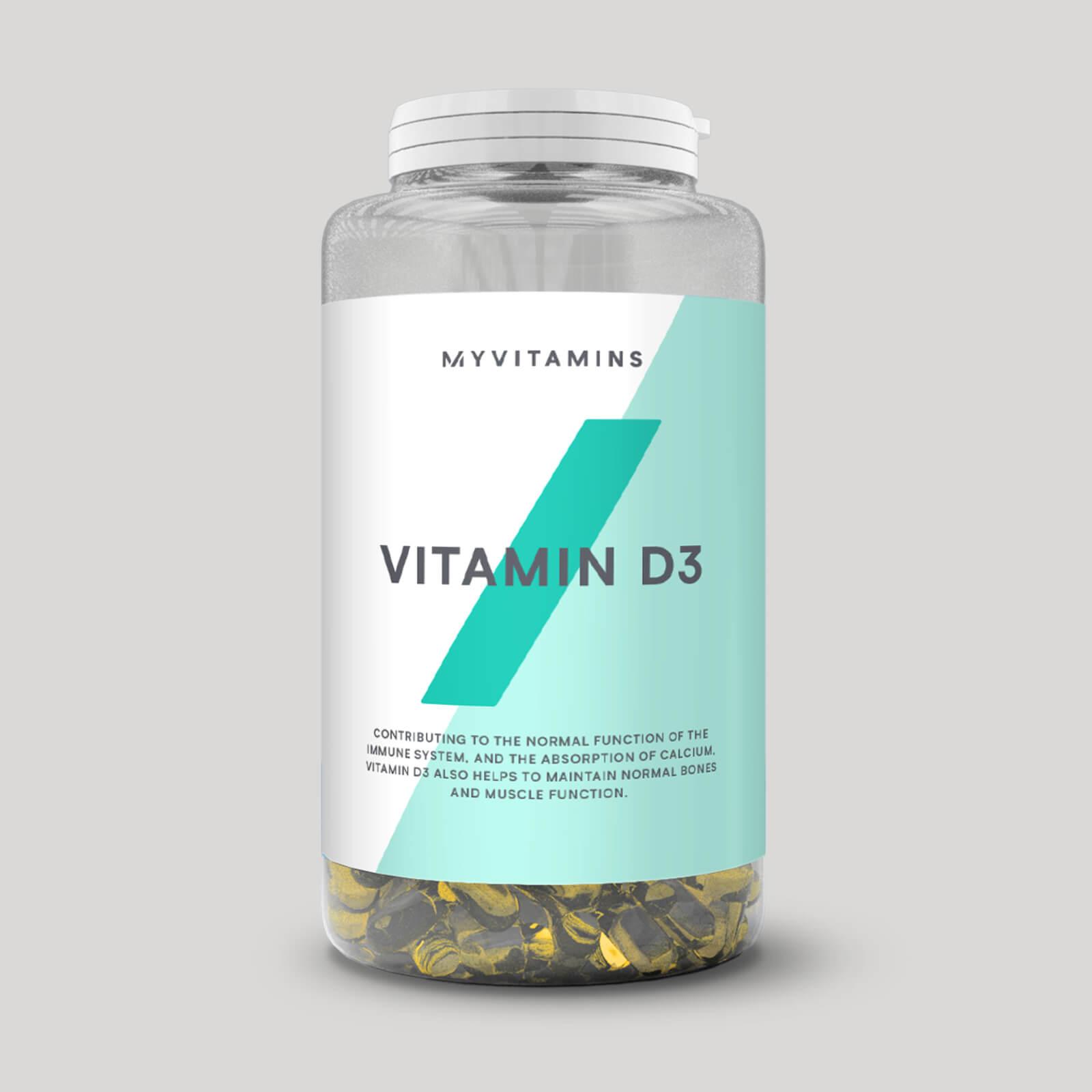 Myvitamins Vitamine D3 en gélules - 360Gélules