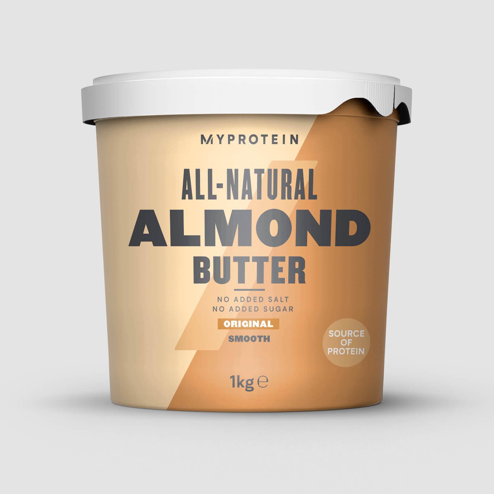 Myprotein Beurre d'amandes - 1kg - Nature - Doux