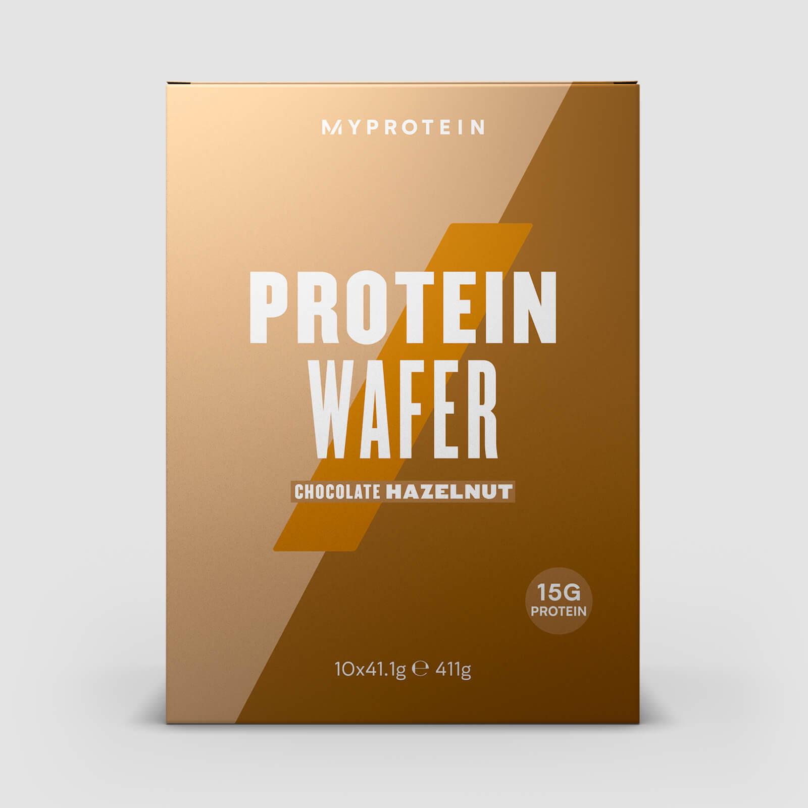 Myprotein Gaufrettes Protéinées Allégées - Chocolat aux noisettes