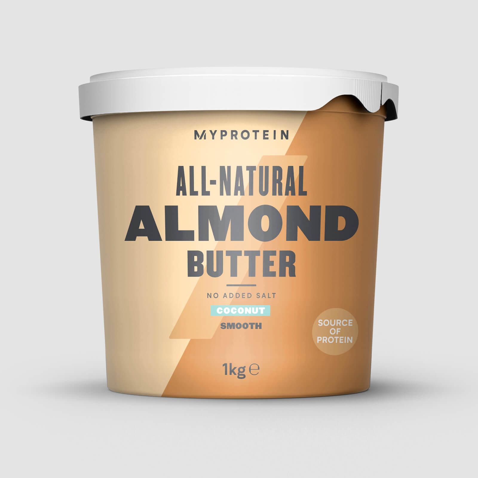 Myprotein Beurre d'amandes - 1kg - Noix de Coco - Doux