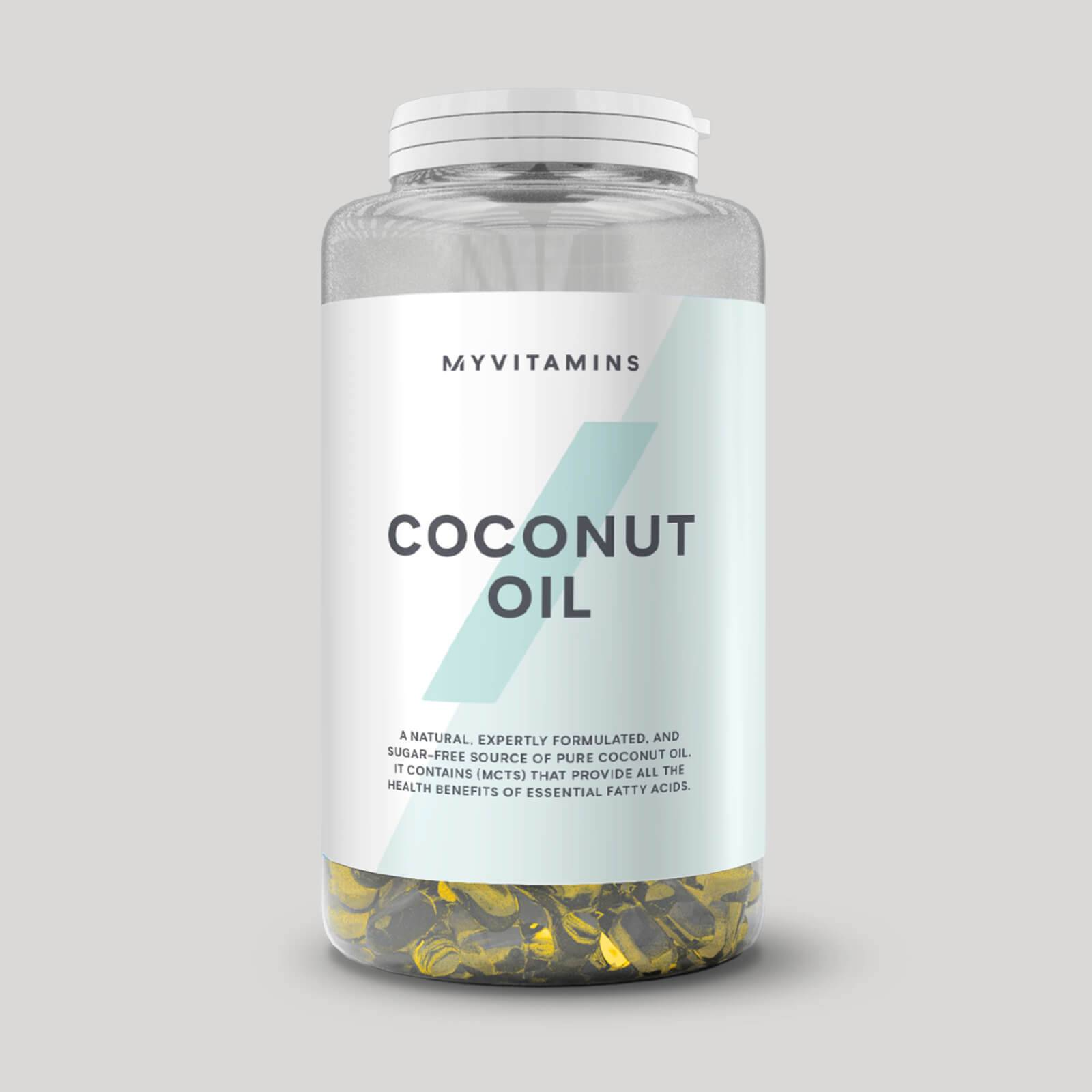 Myprotein Huile de Noix de Coco - 90Gélules molles