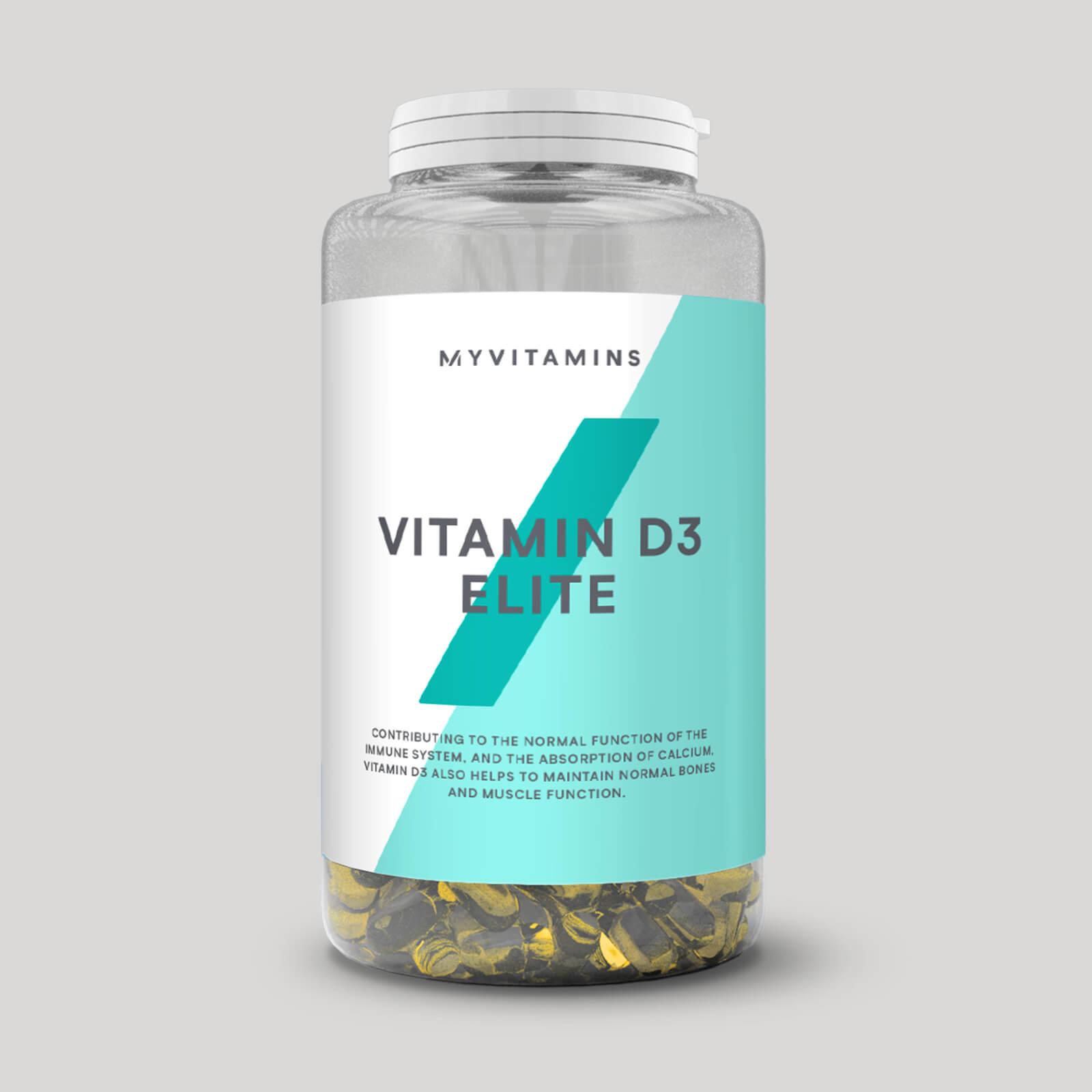Myprotein Vitamine D3 Elite - 180Gélules