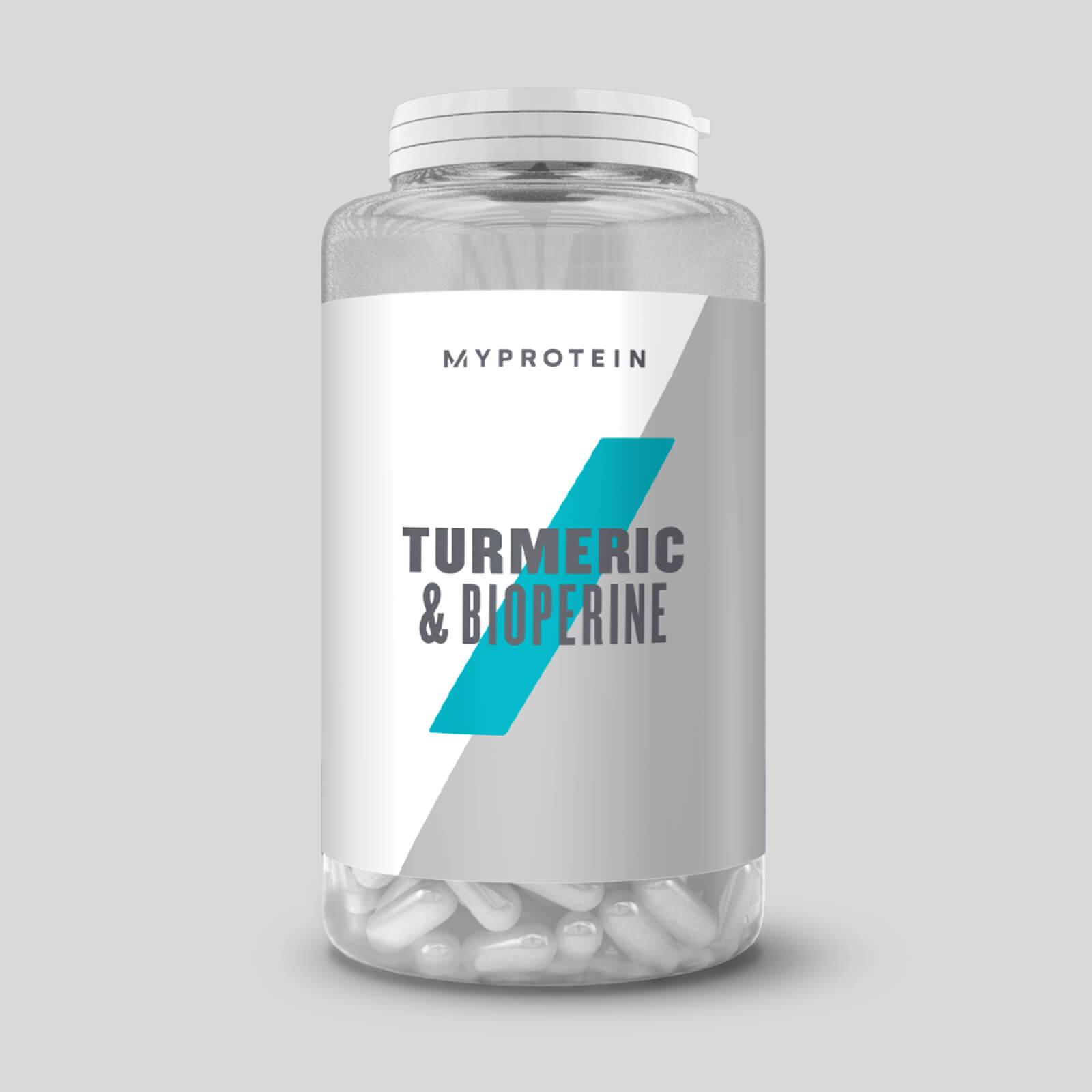 Myprotein Capsules de curcuma & BioPerine® - 180Gélules