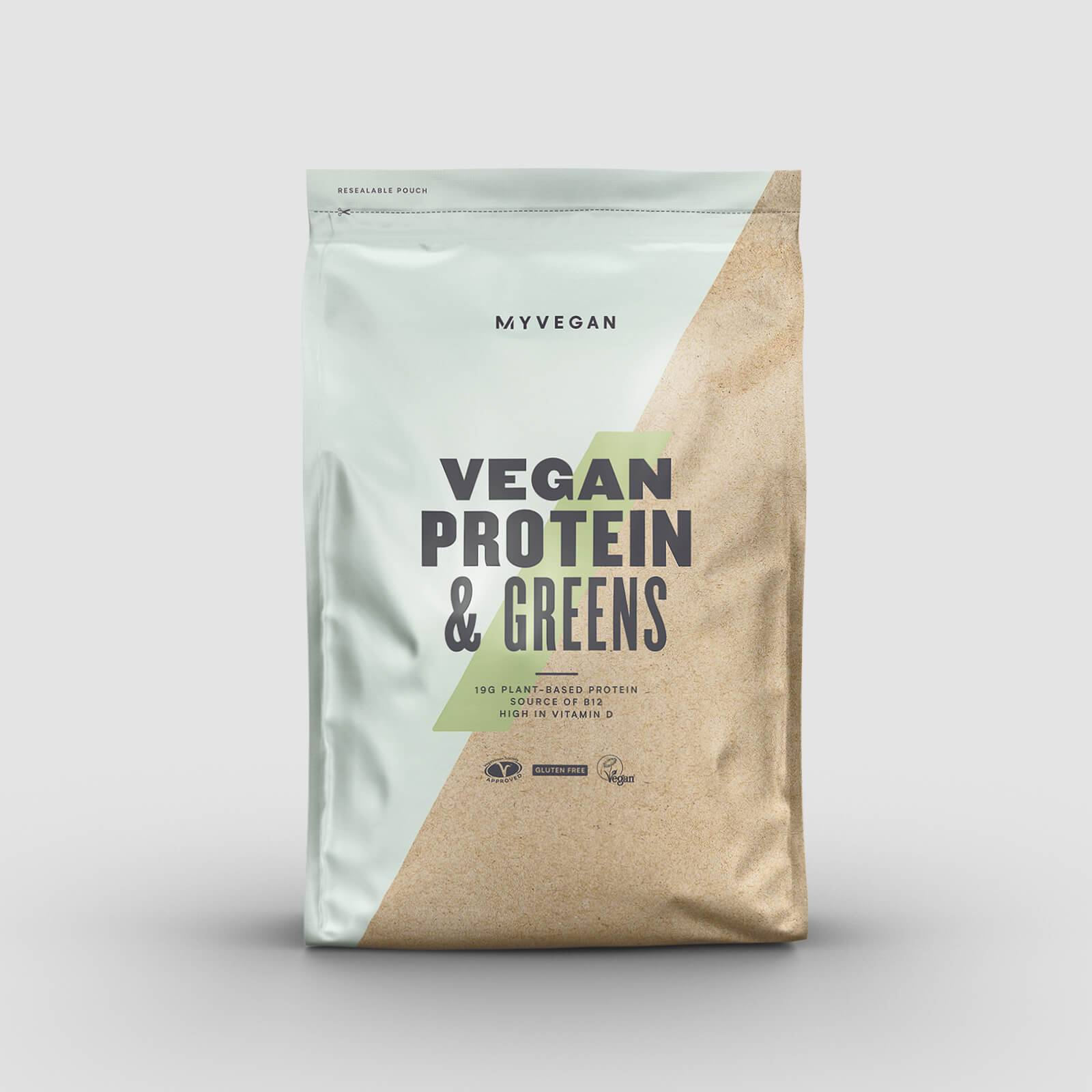 Myprotein Protéines végétaliennes et légumes verts - 1kg - Café Moka
