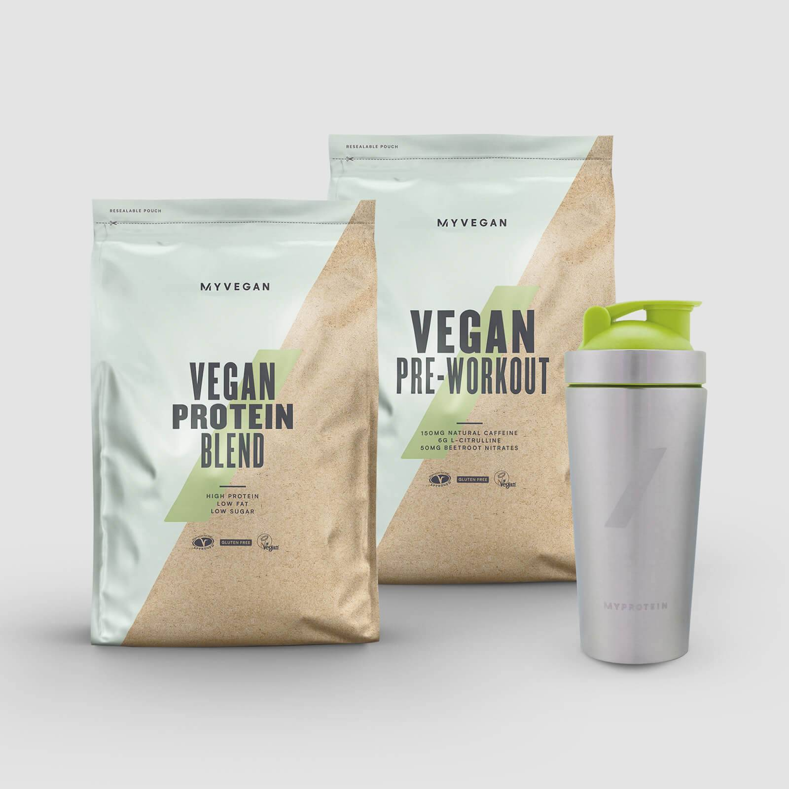 Pack performance vegan - Lemon Tea - Turmeric Latte