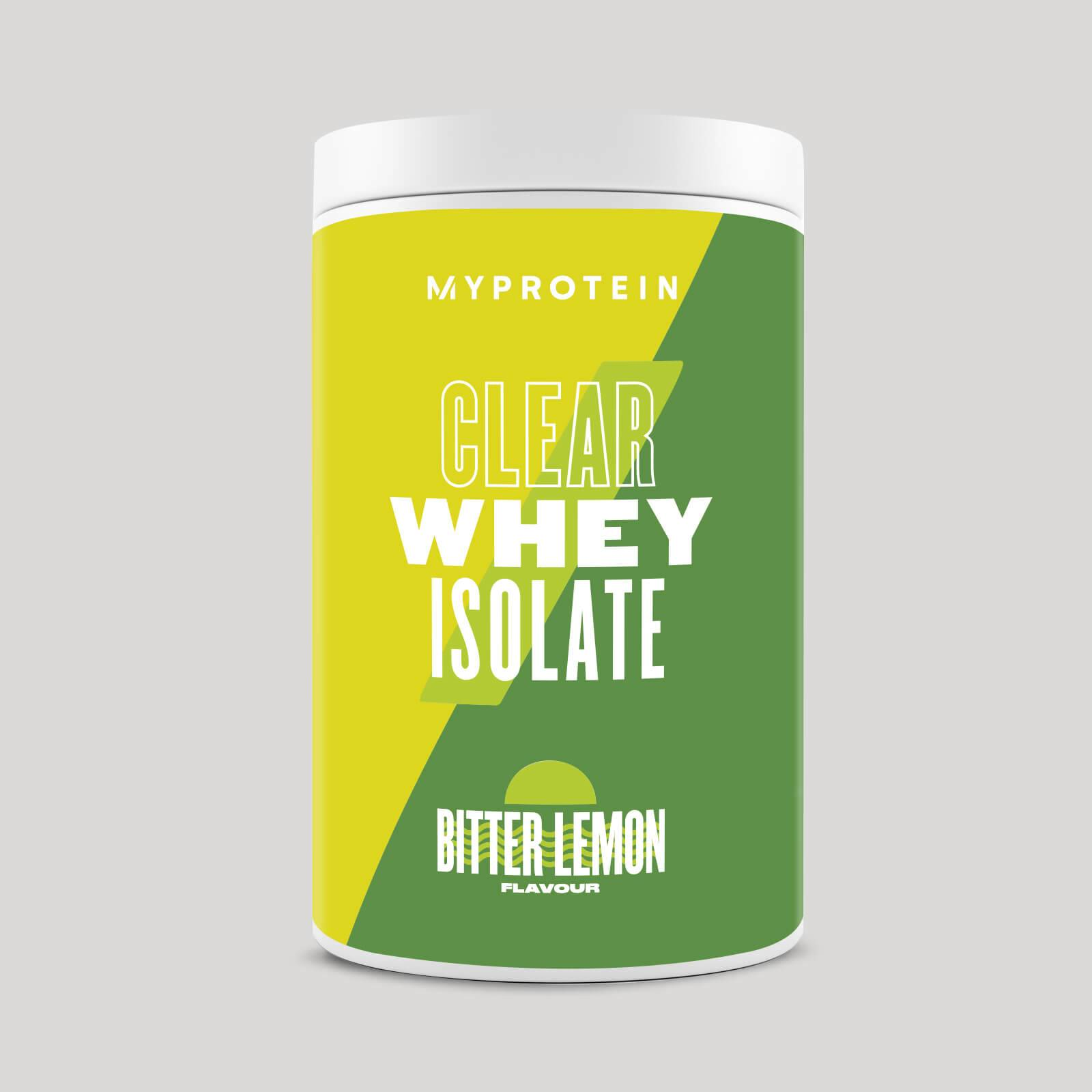 Myprotein Clear Whey Isolate - 20servings - Bitter Lemon