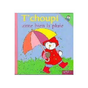 T'choupi aime bien la pluie - Thierry Courtin - Livre - Publicité
