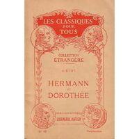 Hermann et Dorothée - Johann Wolfgang Von Goethe - Livre <br /><b>2.28 EUR</b> Livrenpoche.com