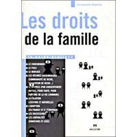 Les droits de la famille - Emanuelle Dépollier - Livre <br /><b>3.11 EUR</b> Livrenpoche.com