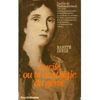 Lucile ou la nostalgie du génie - Marité Diniz - Livre <br /><b>3.39 EUR</b> Livrenpoche.com