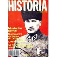 Historia n°502 : Mustapha Kemal / Montmartre au temps du Chat Noir - Collectif - Livre <br /><b>11.00 EUR</b> Livrenpoche.com