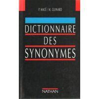 Dictionnaire des synonymes - Pierre-Antoine Macé - Livre <br /><b>3.99 EUR</b> Livrenpoche.com