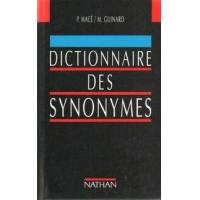 Dictionnaire des synonymes - Pierre-Antoine Macé - Livre <br /><b>4.00 EUR</b> Livrenpoche.com
