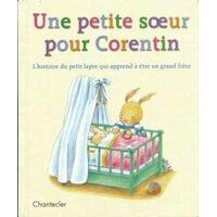 Une petite soeur pour Corentin. L'histoire du petit lapin qui apprend à être un grand frère - Aline De Pétigny - Livre <br /><b>4.96 EUR</b> Livrenpoche.com