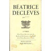 Béatrice Declèves - Inconnu - Livre <br /><b>3.97 EUR</b> Livrenpoche.com