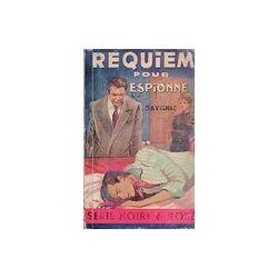 Requiem pour espionne - A. Savignac - Livre