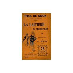 La laitière de Montfermeil Tome II - Paul De Kock - Livre