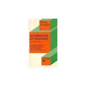 Weber Information et pouvoirs - J. Weber-Amouyal - Livre