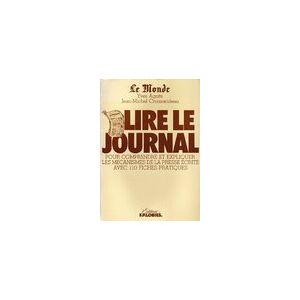 Le Monde : Lire le journal - Yves Agnès - Livre - Publicité