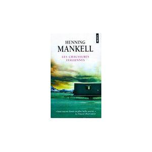 Les chaussures italiennes - Henning Mankell - Livre - Publicité