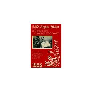 Argus fildier 1983. Catalogue des cartes postales - André Fildier - Livre - Publicité