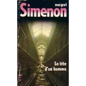 La tête d'un homme (L'homme de la tour eiffel) - Georges Simenon - Livre - Publicité