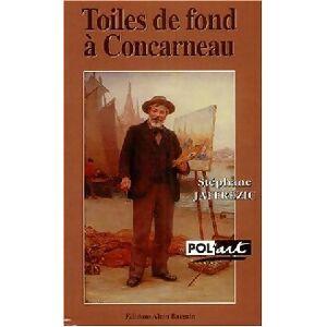 Toiles de fond à Concarneau - Stéphane Jaffrezic - Livre - Publicité