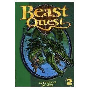 Garmin Beast quest Tome II : Sepron, le serpent de mer - Andy Blade - Livre - Publicité