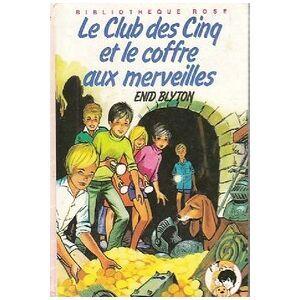 Le club des cinq et le coffre aux merveilles - Enid Blyton - Livre - Publicité