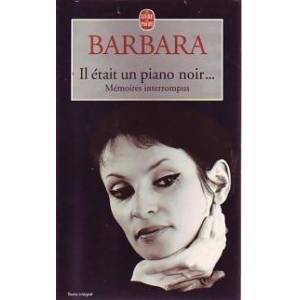 Il était un piano noir... - Barbara - Livre - Publicité