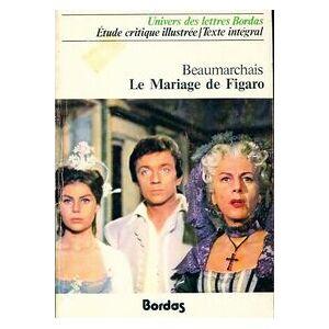 Le mariage de Figaro - Pierre-Augustin Beaumarchais - Livre - Publicité