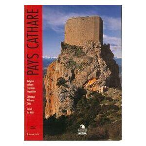 Pays cathare - Michèle Aué - Livre - Publicité