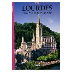 Lourdes from vision to Pilgrimage - Collectif - Livre - Publicité