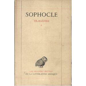 Tragédies Tome II - Sophocle - Livre - Publicité