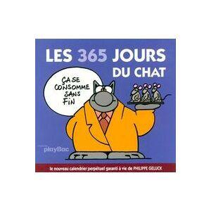 Les 365 jours du chat Tome II - Philippe Geluck - Livre - Publicité